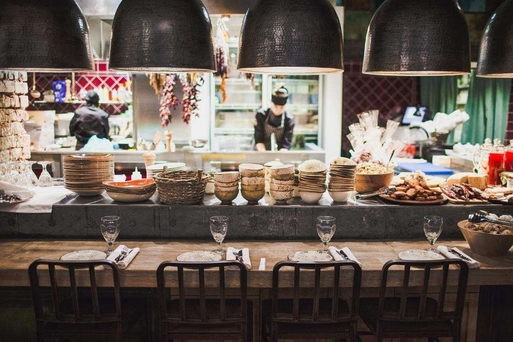 Барная стойка ресторана 5642 Высота от Новикова