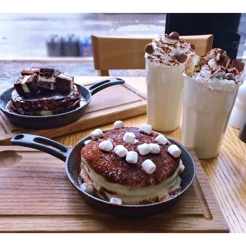 сладкие завтраки в Брекфаст кафе